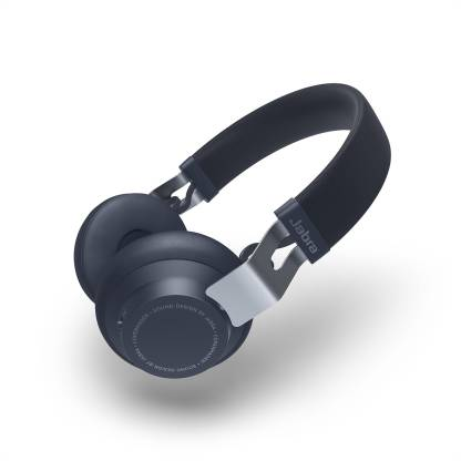Jabra Move Style Edition, Navy Wireless Bluetooth Music Headphones Bluetooth Headset Navy Blue, On the Ear  Jabra Headphones