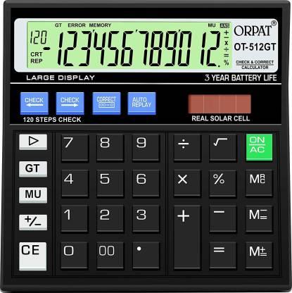 ORPAT OT - 512 GT Basic  Calculator