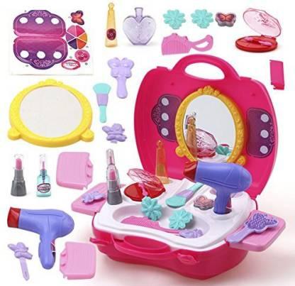 jmv Beauty Makeup Cosmetic Set Suitcase, Durable Kit Hair Salon