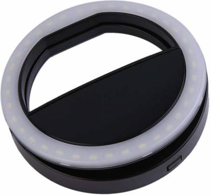 curve creation 2 inch ring Selfie Flash