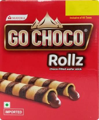 Go Choco Wafer Rolls