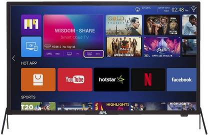 BPL Stellar Series 80cm (32 inch) HD Ready LED Smart TV  (T32SH30A) thumbnail