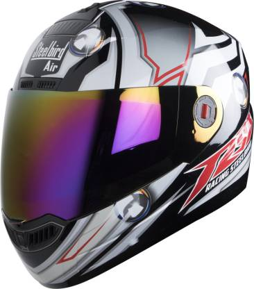 Steelbird S A 1 CH MA Motorbike Helmet