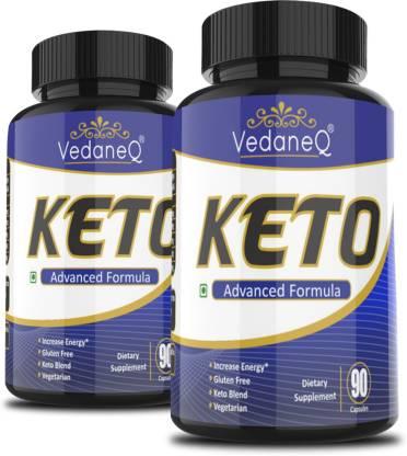 VedaneQ Keto Diet Capsules weight loss supplement for Men & Women