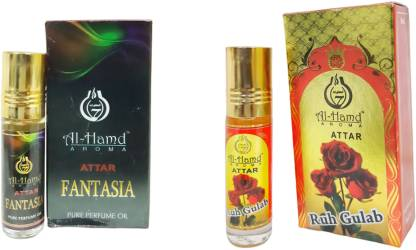 Al-Hamd AROMA GFTD86JK_36 Herbal Attar