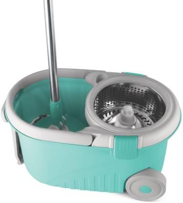 Spotzero by Milton ROYALE STEEL WRINGER SPIN MOP Mop, Bucket
