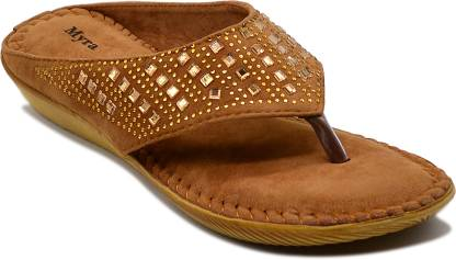 Myra Women Tan Wedges
