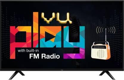 Vu 80cm (32 inch) HD Ready LED TV with FM Radio