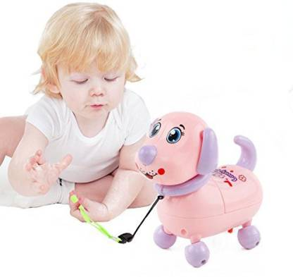 Obvie Musical Dancing Dog with Music Flashing Lights Puppy Can Walk
