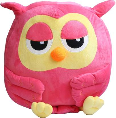 dollar store owl plush pillow  - 10 inch