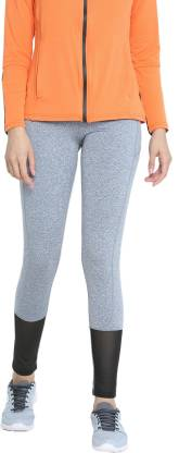 Chkokko Self Design Women Grey Tights