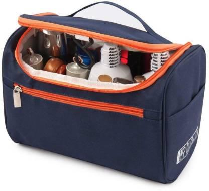 GOCART Hanging Make Up Bag Cosmetic Pouch Shaving Grooming Dopp Kit Travel Toiletry Kit