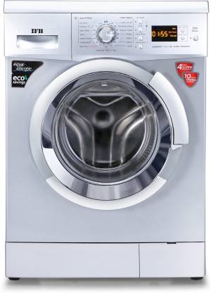 IFB 6.5 kg 3D Wash Fully Automatic Front Load with In-built Heater Silver
