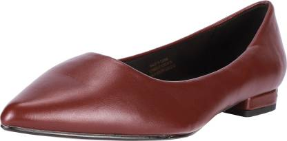 Allen Solly Women Burgundy Heels