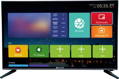 Micromax Canvas 81cm (32 inch) HD Ready LED Smart Android TV(32Canvas1Pro/32Canvas3Pro)