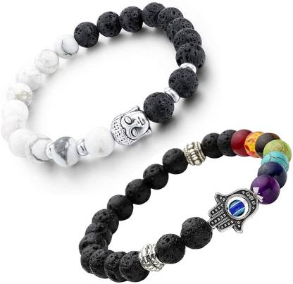 Metal Beads Charm Bracelet(Pack of 2)
