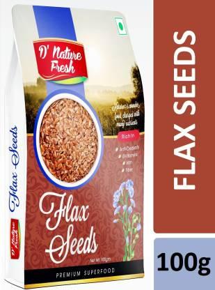 D NATURE FRESH Brown Flax Seeds