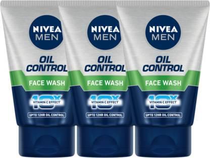 NIVEA Oil control Face wash- Pack of 3 Face Wash