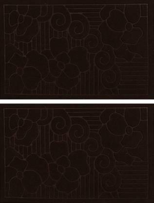 KUBER INDUSTRIES Microfiber Door Mat