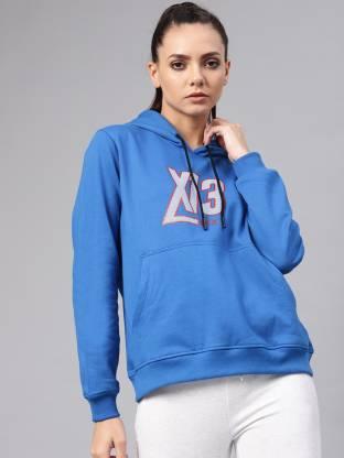 HRX by Hrithik Roshan Full Sleeve Printed Women Sweatshirt