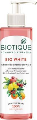 BIOTIQUE Bio White Advanced Fairness  Face Wash