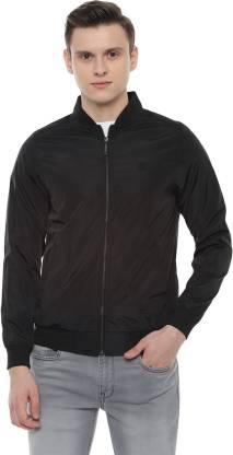 Van Heusen Full Sleeve Solid Men Jacket