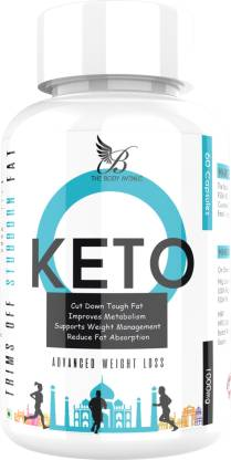 The Body Avenue Keto Advanced Weight Loss & Fat Burner Capsules 1000mg (60 No)