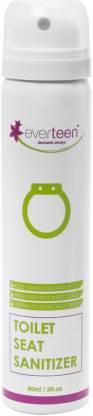 everteen Instant Toilet Seat Sanitizer Spray for Women – 90ml Floral Spray Toilet Cleaner