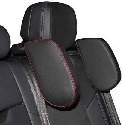 Car headrest Black Leather Car Pillow Cushion for Universal For Car Price in India - Buy Car headrest Black Leather Car Pillow Cushion for Universal For Car online at Flipkart.com