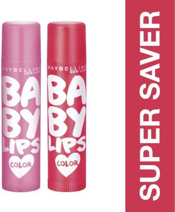 MAYBELLINE NEW YORK Baby Lips Pink Lolita and Cherry Kiss