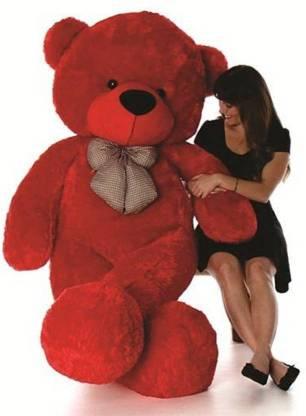 Pocketfriendly red 3 feet teddy bear st c  - 91.55 cm