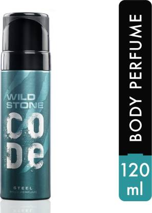 Wild Stone Code Steel Perfume Body Spray  -  For Men