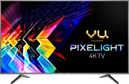 Vu Pixelight 108cm (43 inch) Ultra HD (4K) LED Smart TV with Cricket Mode