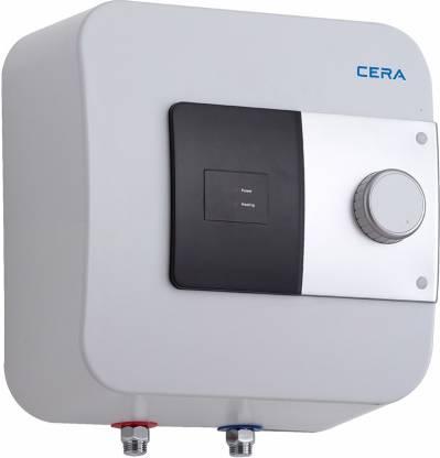 CERA 10 L Storage Water Geyser (10L Geyser Viva-10, White)