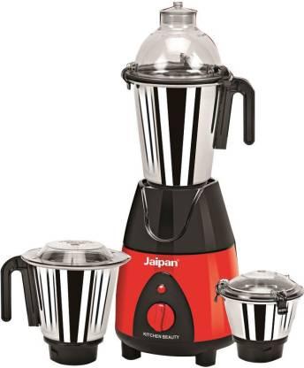 Jaipan Kitchen Appliance Mixer 750 W 750 Juicer Mixer Grinder (3 Jars, Red, Black)