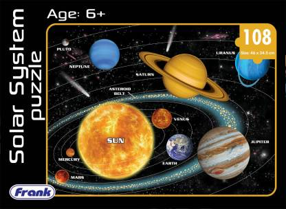 Frank The Solar System Puzzle