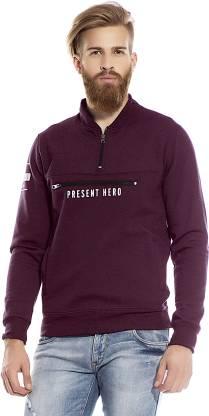 Maniac Full Sleeve Printed Men Sweatshirt