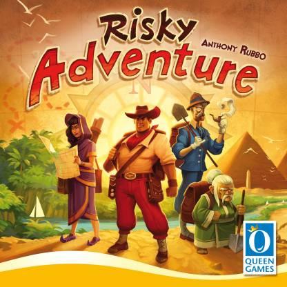 Queen Games Risky Adventure Party & Fun Games Board Game