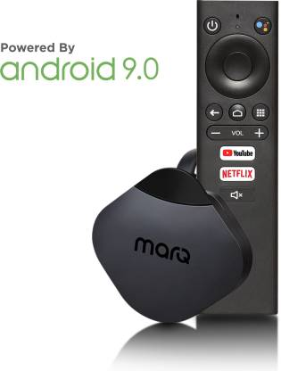MarQ by Flipkart Turbostream Media Streaming Device with Built-in Chromecast