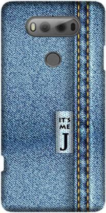 CASESUTRA Back Cover for LG V20, H990 - Zodiac Jeans Print