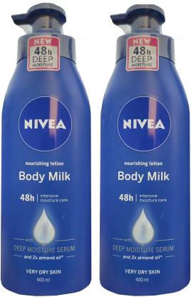 NIVEA Nourishing Lotion Body Milk 400ml *2