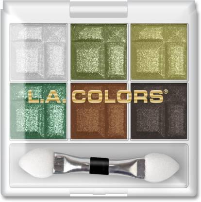 L.A. COLORS 6 Color Eyeshadow Palette - 4 g