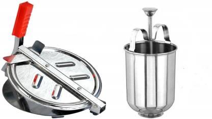 Kreyam's Puri Press/Chapati Press/Roti Maker/Papad Maker Roti/Khakhra Maker