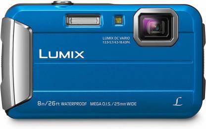 Panasonic DMC-TS30A DMC-T30A Active Lifestyle Tough Camera,Blue Sports and Action Camera