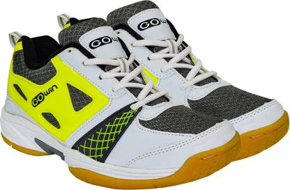 GOWIN staunch grey / lime Badminton Shoes For Men