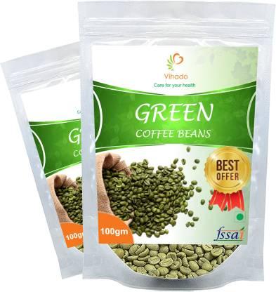 Vihado Orgarnic Premium Green Coffee Beans/ 100% Pure & Natural Instant Coffee