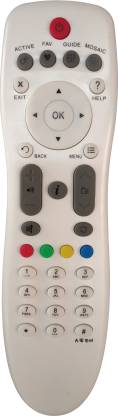 Axelleindia Compatible Remote For D2H HD/SD Set Top Box to Compatible For Videocon D2H Remote Controller