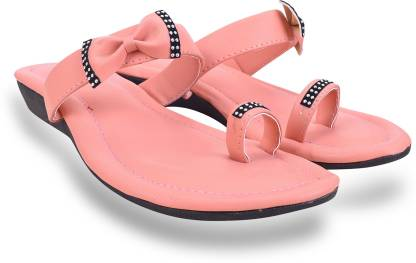 Sayera Women Pink Flats