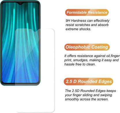 CHVTS Tempered Glass Guard for Mi Redmi Note 8 Pro Pack of 1  CHVTS Screen Guards