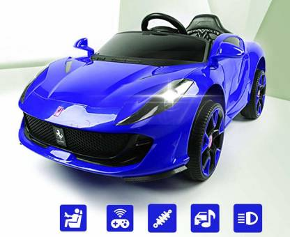 H S Ferrari Baby Toy Car For 2 6 Year Car Battery Operated Ride On Price In India Buy H S Ferrari Baby Toy Car For 2 6 Year Car Battery